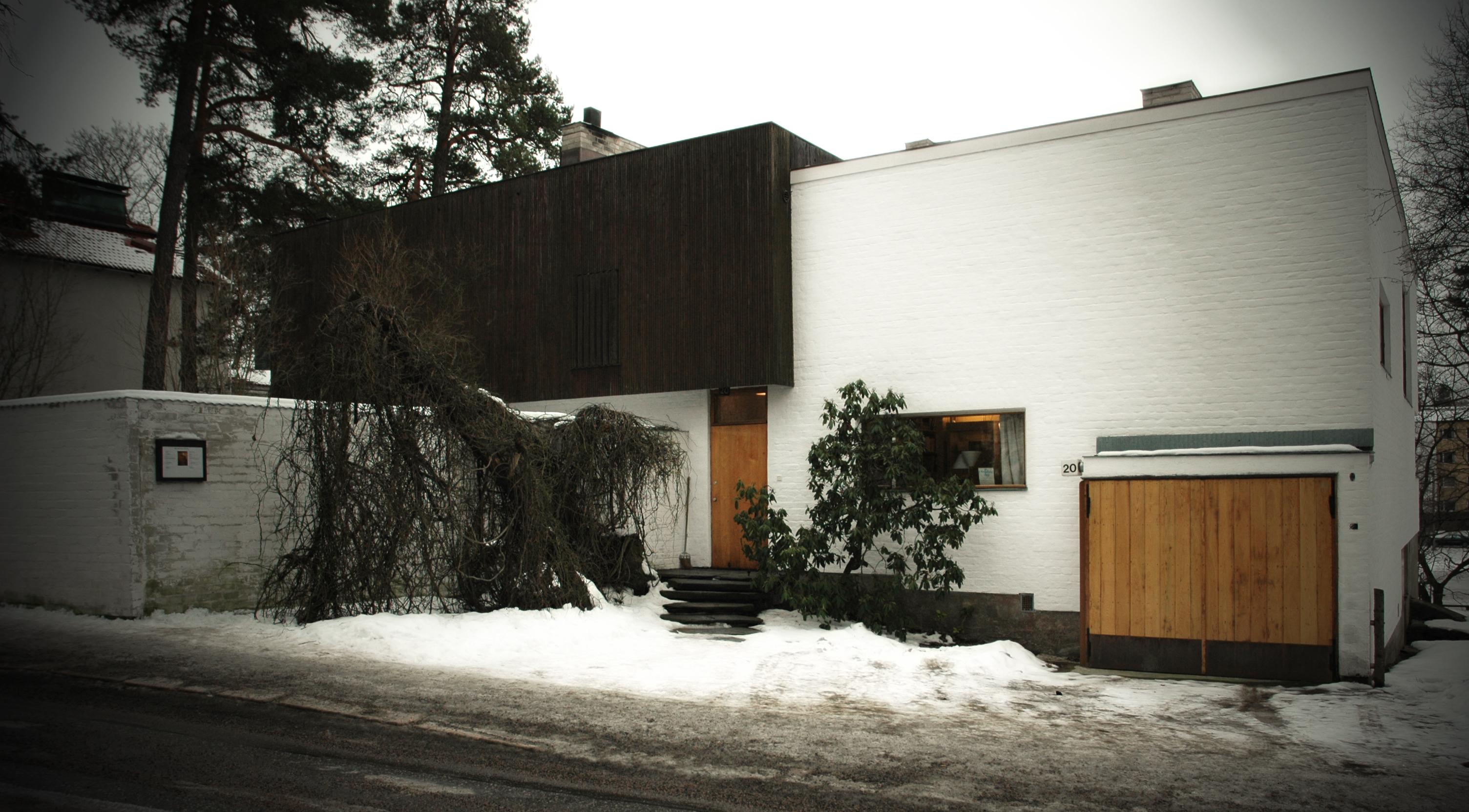 Alvar aalto house alvar aalto helsinki finlandia archher for The aalto house
